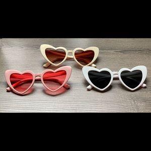 Heart Shaped Sunglasses (17 pairs) NEW!